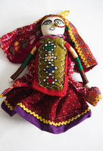 Load image into Gallery viewer, Handmade rag dolls from Hodka village