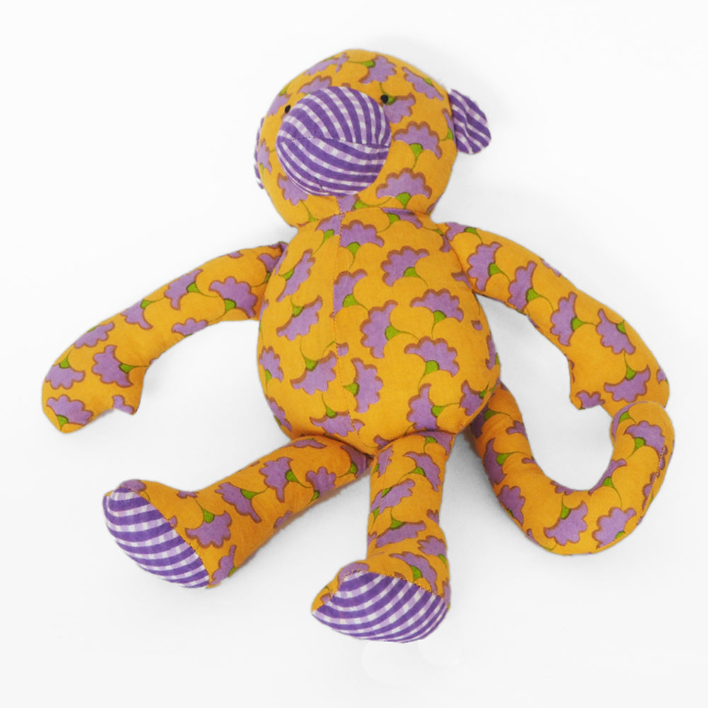 Fair trade Baby Muthu Monkey soft toy