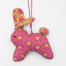 Load image into Gallery viewer, Handmade Bunny ornament