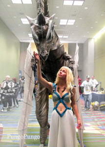 Pleating in Action: Daenerys Targaryen- Game of Thrones Costume