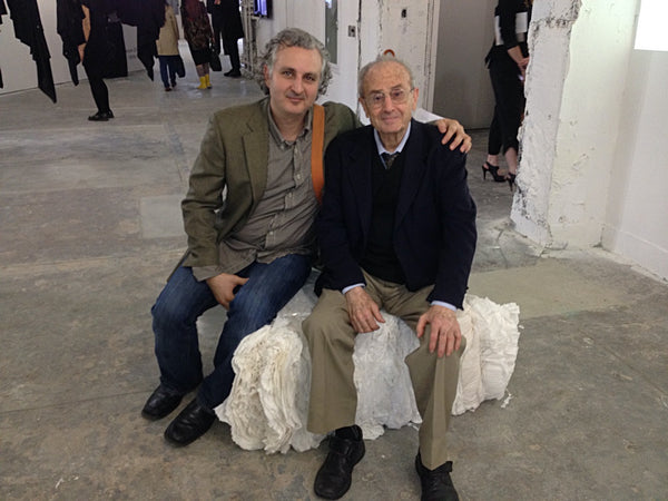 Leon Kalajian and Son George at Parsons School of Fashion Design