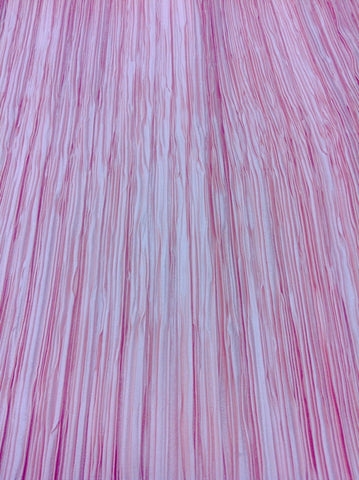 Polyester fortuny inspired fabric