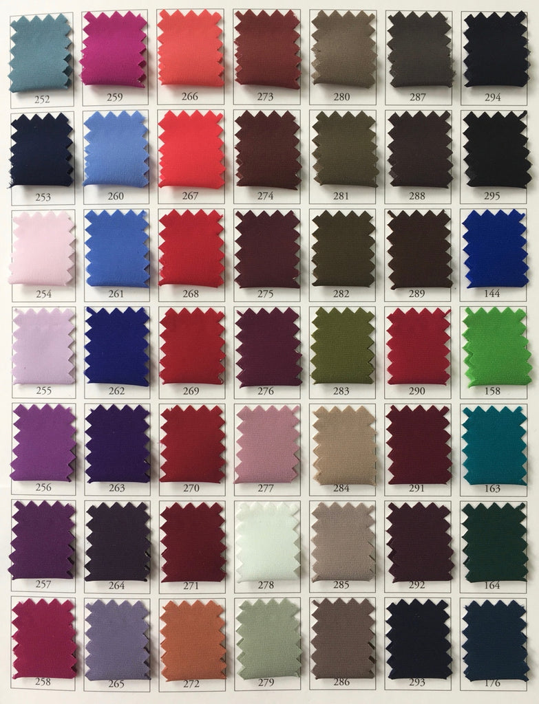 Order Custom Colors  Silk Pleated Fabric with International Pleating