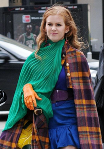 The Girl in the Green Scarf