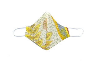 Garden Paisley Silk Cheeky Mask