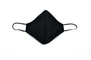 Black Cotton Cheeky Face Mask