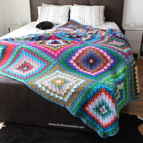 Patroon : Bavarian Buster Blanket
