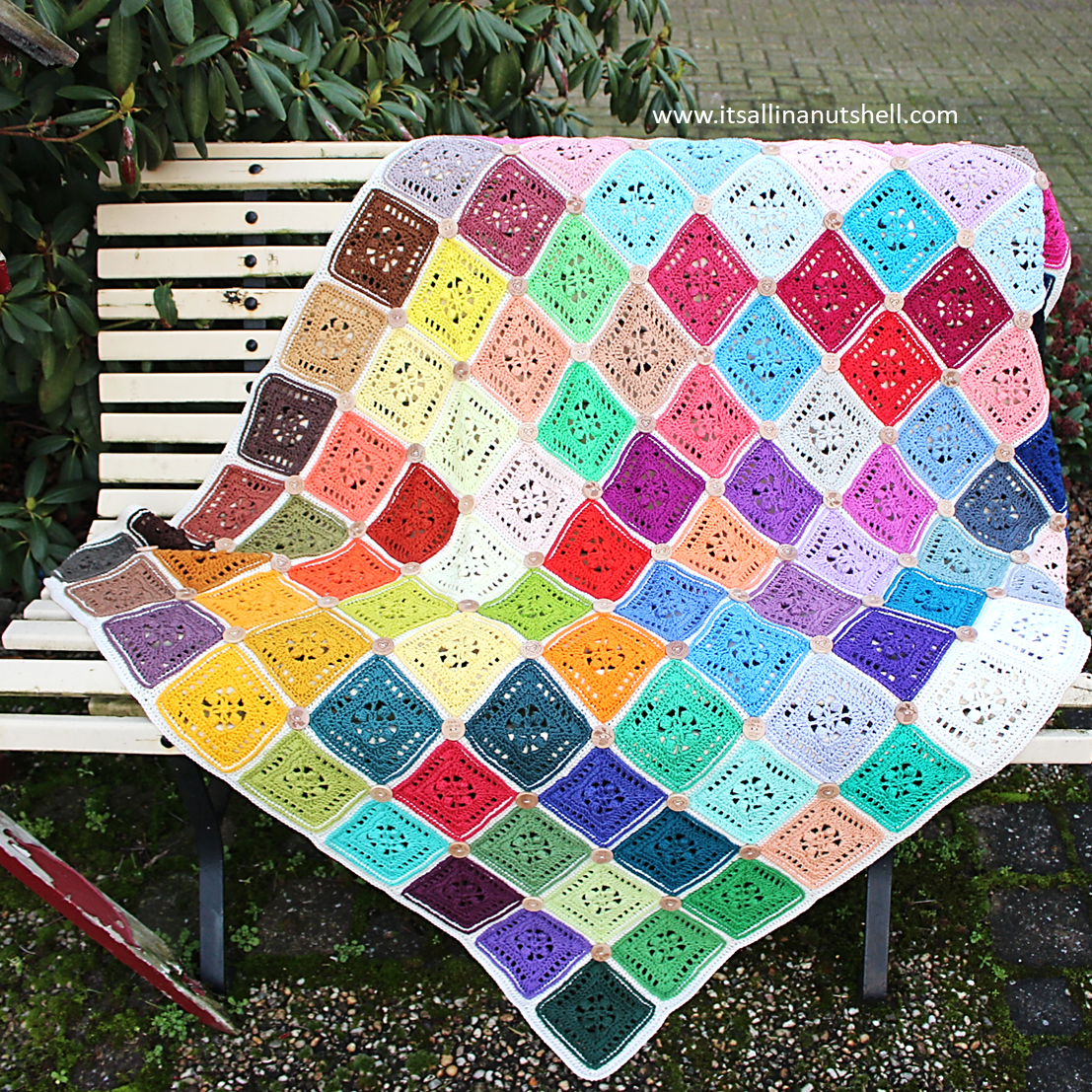 Patroon : Button Blanket