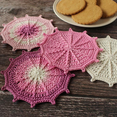 ENGLISH Online Workshop - Textured Coasters - 20 May 2021