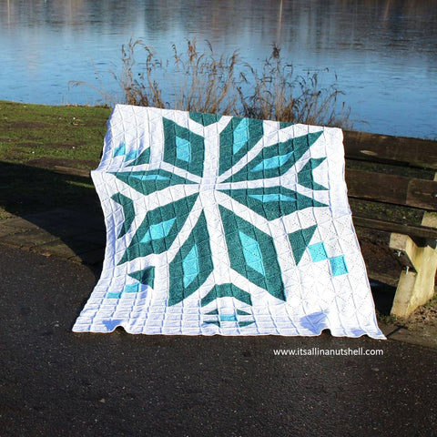 Patroon : Snowflake Blanket