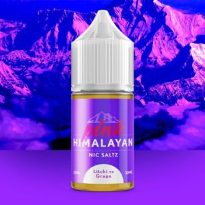 PINK HIMALAYAN eLIQUID -  Litchi vs Grape Nic Salt