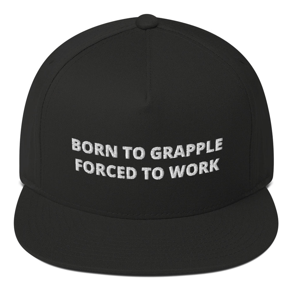 Born To Grapple - Snapback Cap
