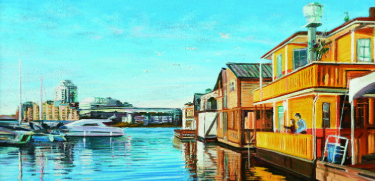 Victoria House Boats by Cody Tresierra