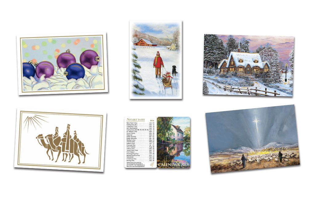 Christmas Cards & 2018 Pocket Calendar