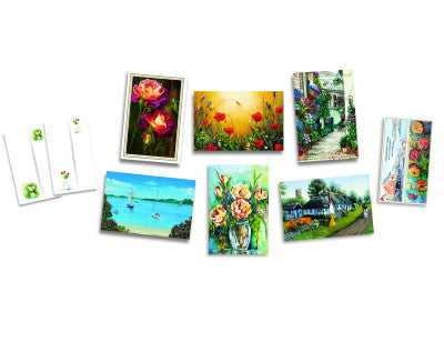 Attractive Set of 4 Art Prints #3