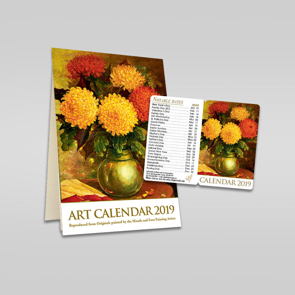2019 Desk & Pocket Calendars