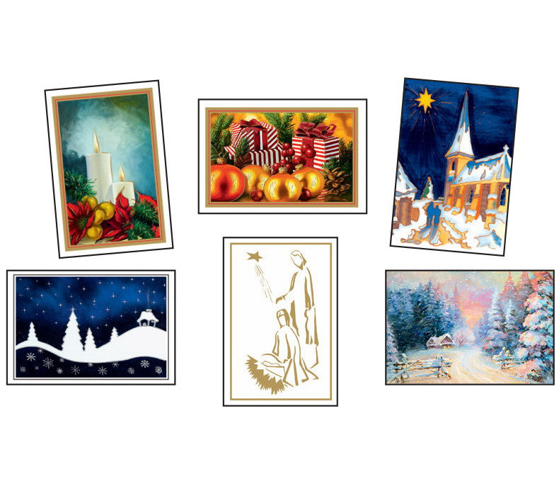 "Christmas Card Assortment Box - 25 cards & envelopes<font color=""red"">- Special Offer</font>"