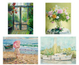 Attractive Set of 4 Art Prints #1