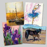 Attractive Set of 4 Art Prints