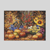 "Unique Cross Stitch Set ""Harvest"" - Special Offer"