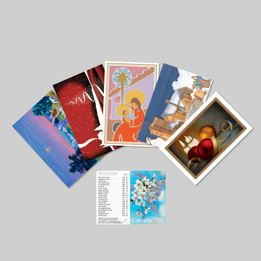 Christmas Cards & 2020 Pocket Calendar