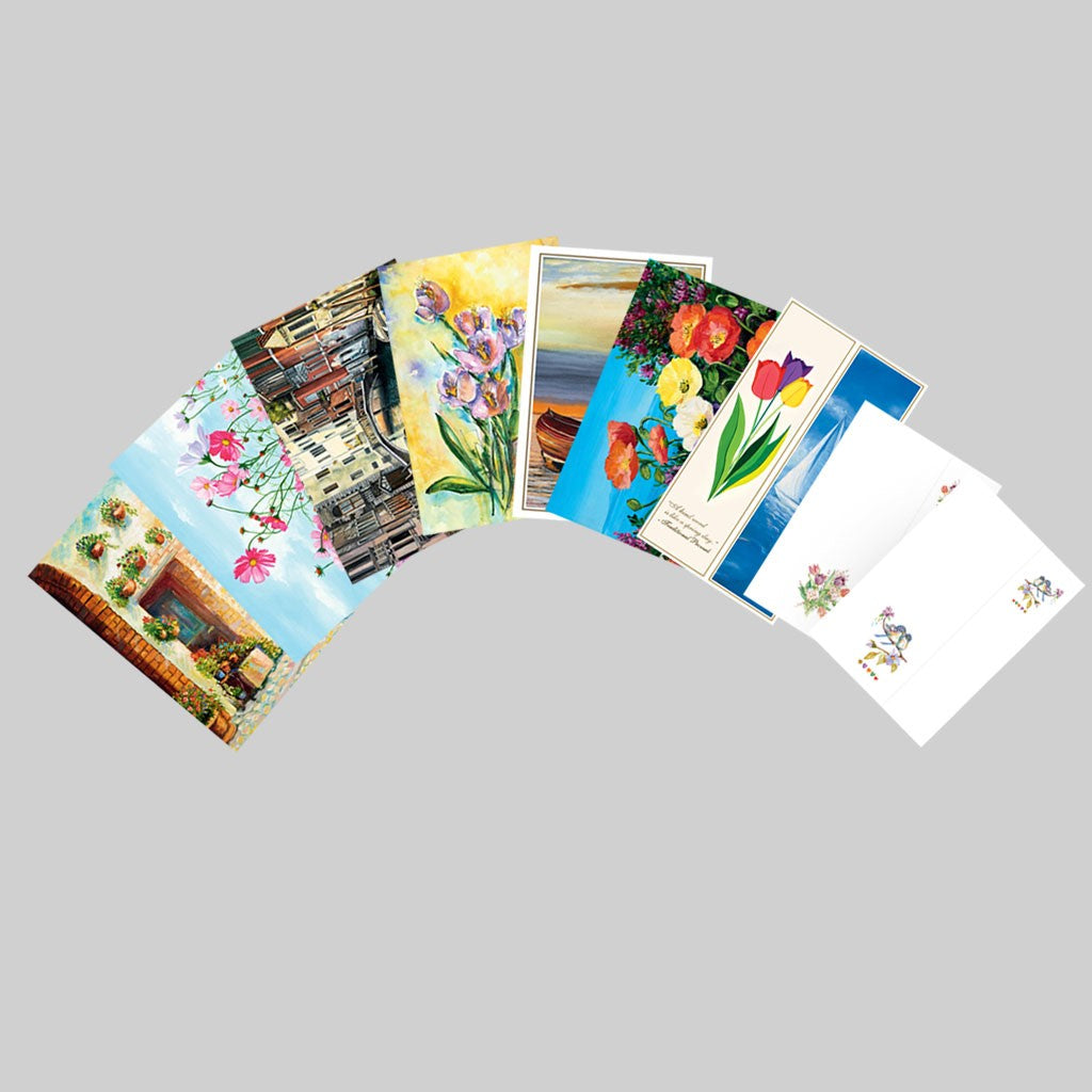 Spring 2020 - Set of Deluxe All Occasion Cards, Notecards & Bookmarks