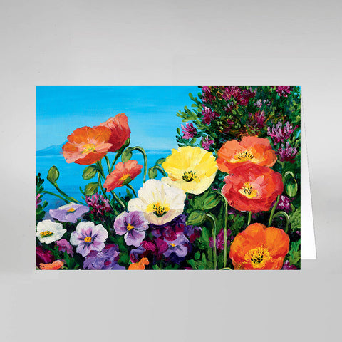 Springtime Bouquet - Sets of Notecards with Envelopes