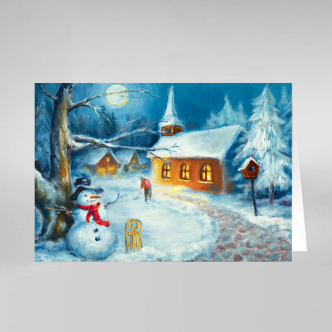 Christmas Card Assortment Box - 25 cards & envelopes - Special Offer