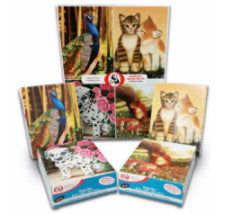 "Jigsaw Puzzles for Children (Set of 4) ""Wildlife & Pets"""