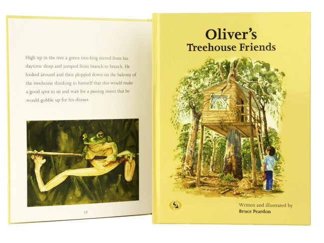 Book Oliver's Treehouse