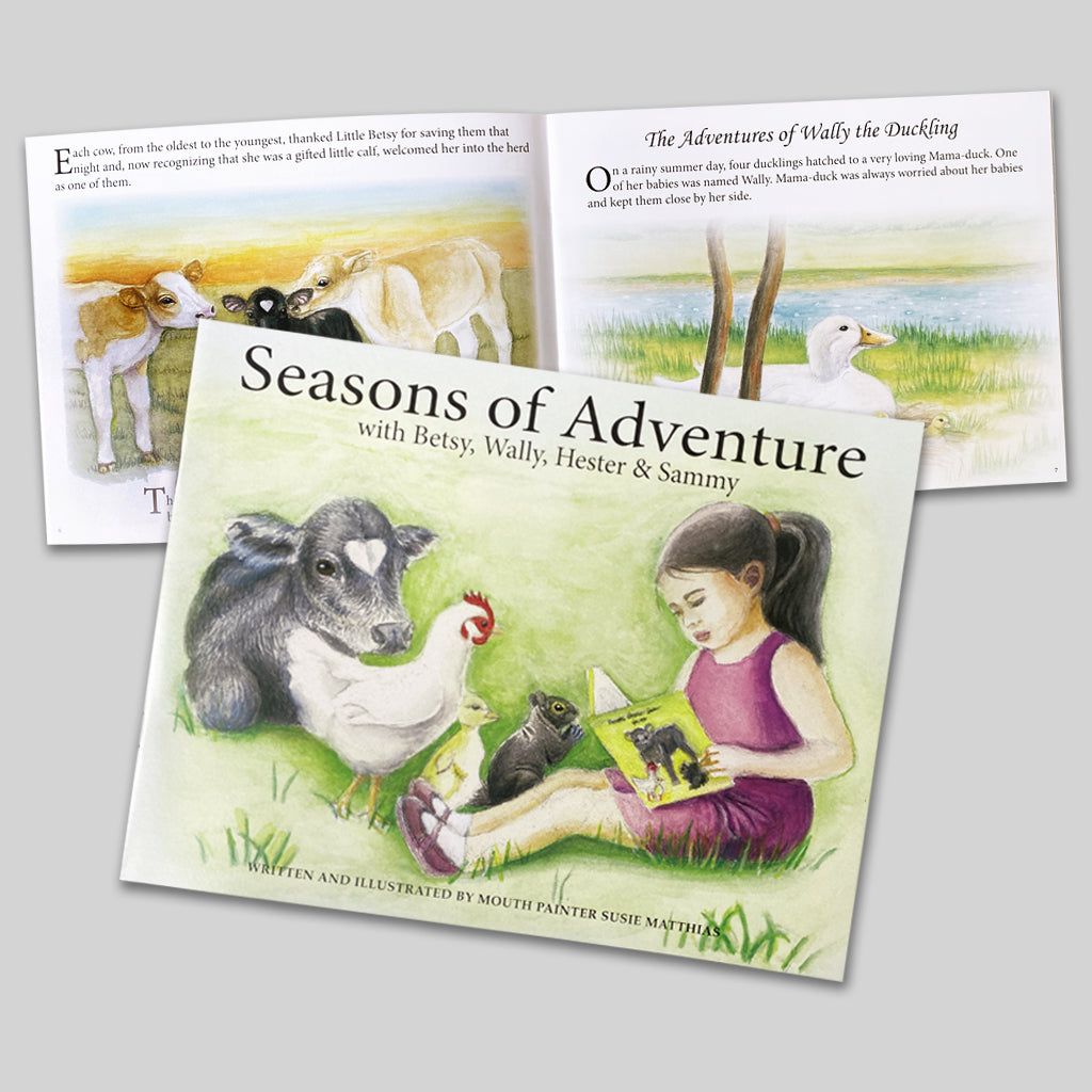 Children's Book - Seasons of Adventure - New