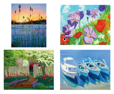 Set of 4 Attractive Art Prints