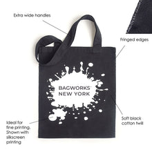 Load image into Gallery viewer, BLACK BOHO TOTE