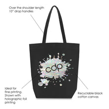 Load image into Gallery viewer, BLACK MANHATTAN TOTE