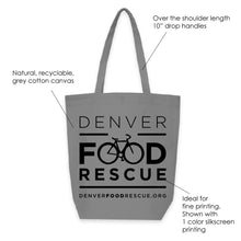 Load image into Gallery viewer, GREY MANHATTAN TOTE