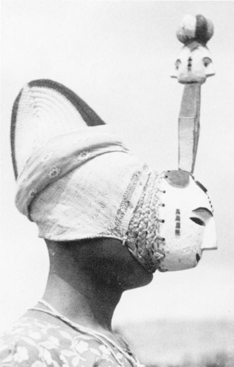 Nkporo Tribe Mask, 1930s