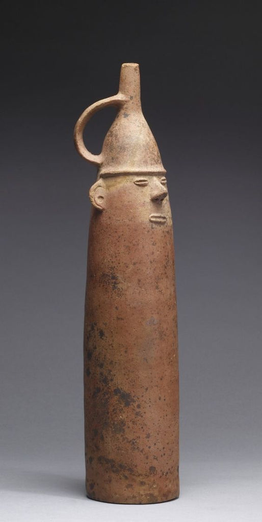 Figurative Bottle, 200BC-100AD