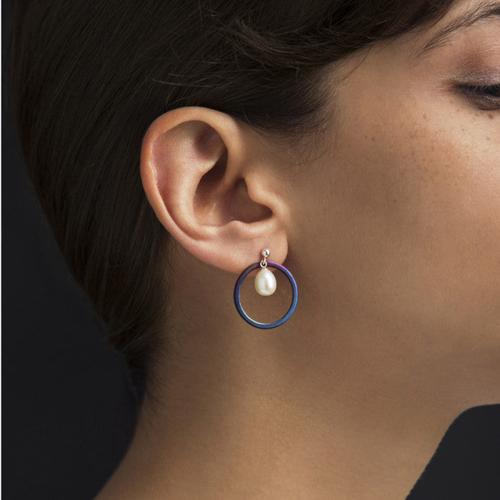 Single Saturn Earring
