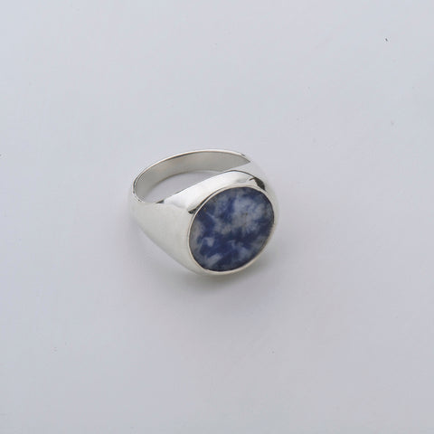 Sodalite Pinky Ring