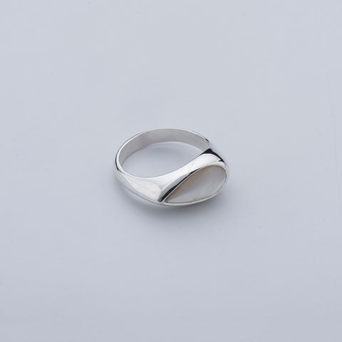 Mother of Pearl Tear Ring