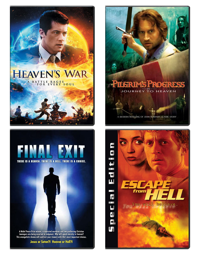 Heaven's War DVD Gospel Bundle
