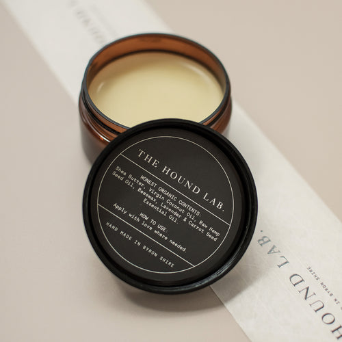 A organic paw balm for all skin and coat types