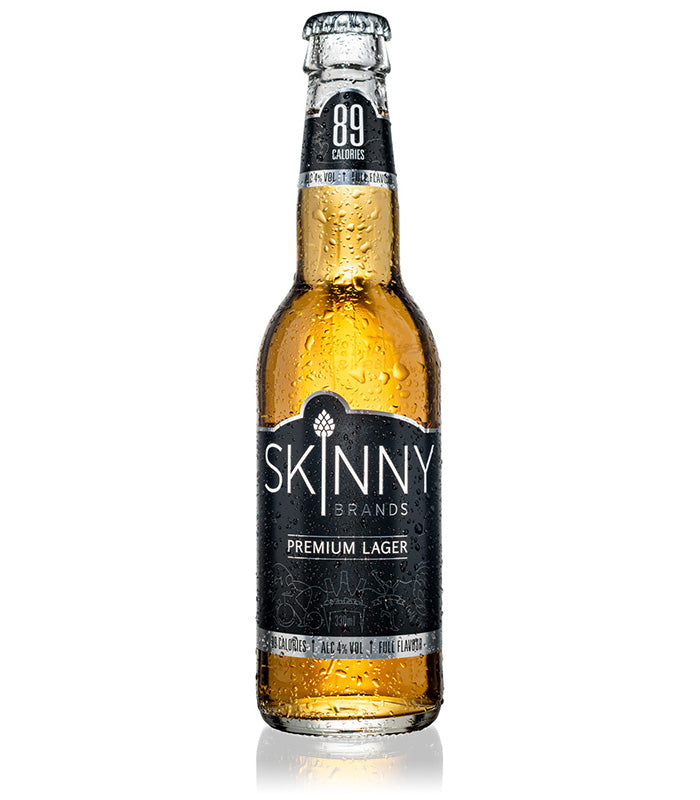 SkinnyBrands Lager 24 Pack