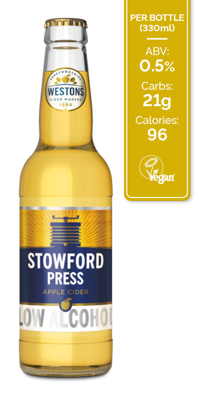 Stowford Press Cider Low Alcohol