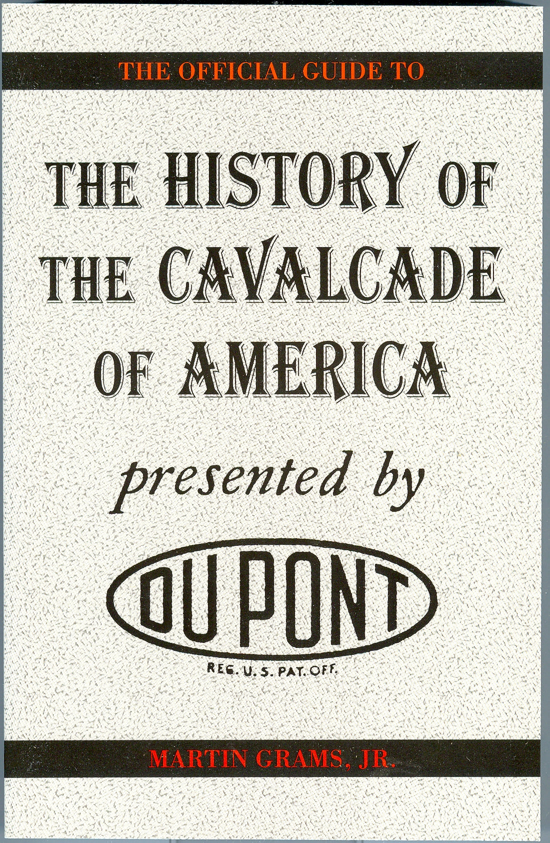 THE HISTORY OF THE CAVALCADE OF AMERICA