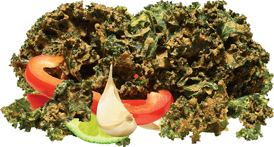 Kale Chips Variety