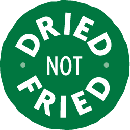 Dried Not Fried