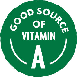 Good Source of Vitamin A