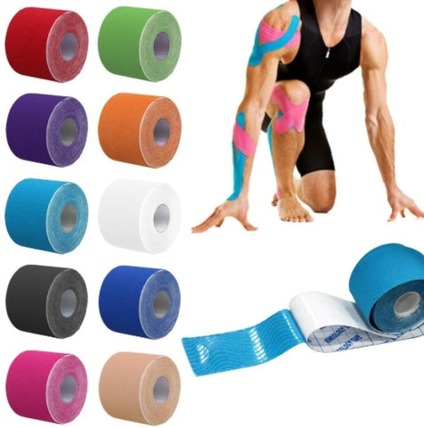 TAPE KINESIOLOGICO PARA DOLOR MUSCULAR