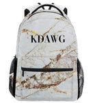 KDawg Back Pack White